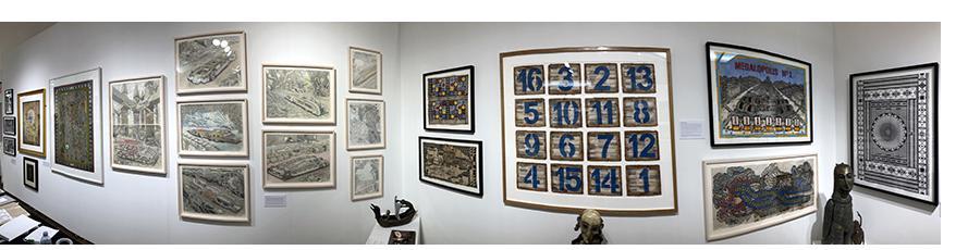 Henry Boxer Booth - Outsider Art Fair NY 2019