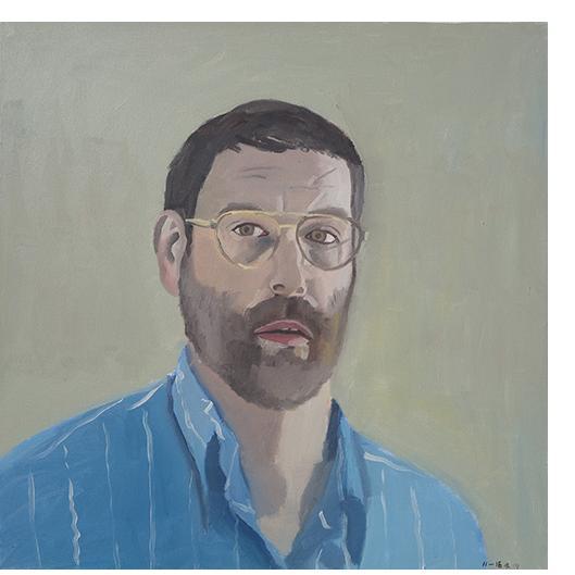 Bryan Charnley - Self Portrait Series 19th July 1991