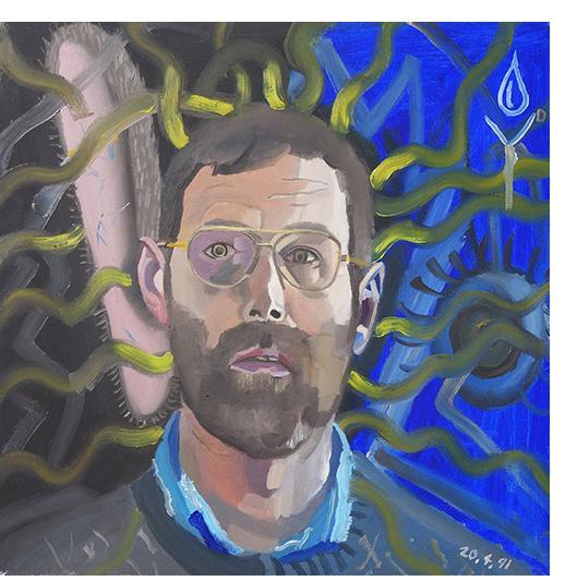 Bryan Charnley - Self Portrait Series 20th April 1991
