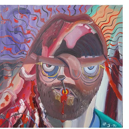 Bryan Charnley - Self Portrait Series 18th May l991