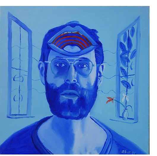 Bryan Charnley - Self Portrait Series 23rd May 1991
