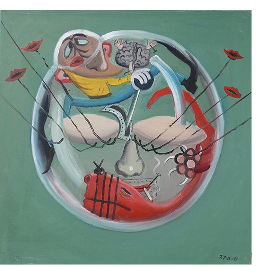 Bryan Charnley - Self Portrait Series 27th June 1991