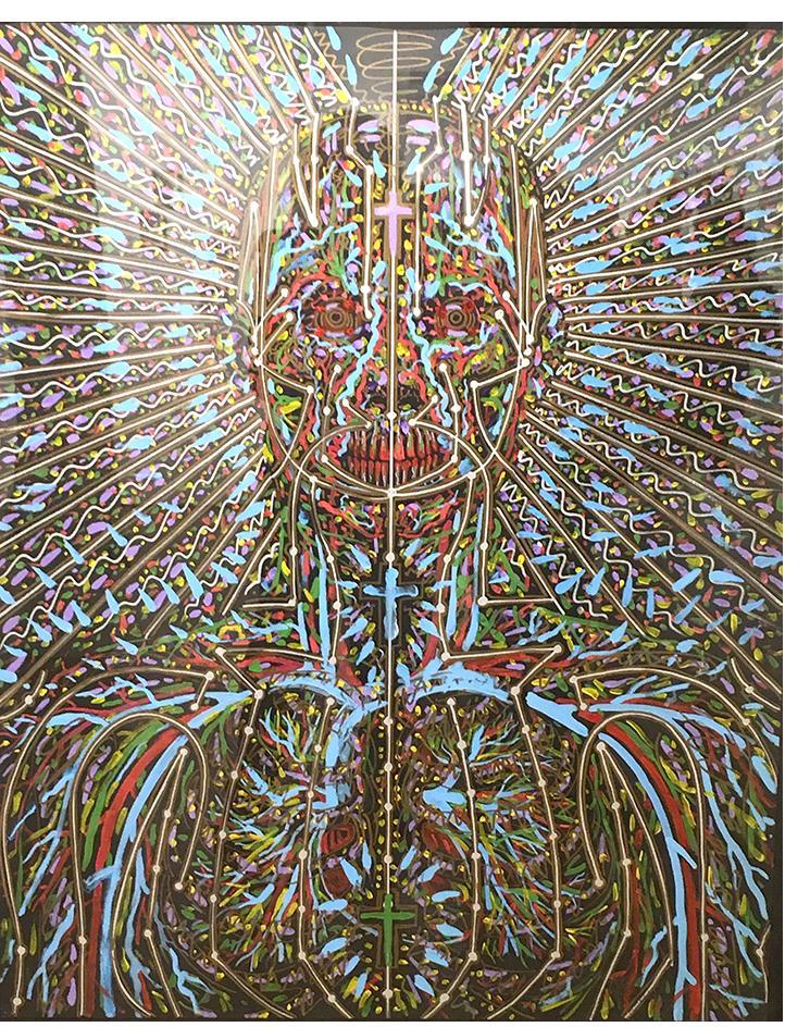 Alex Grey: 'Untitled'