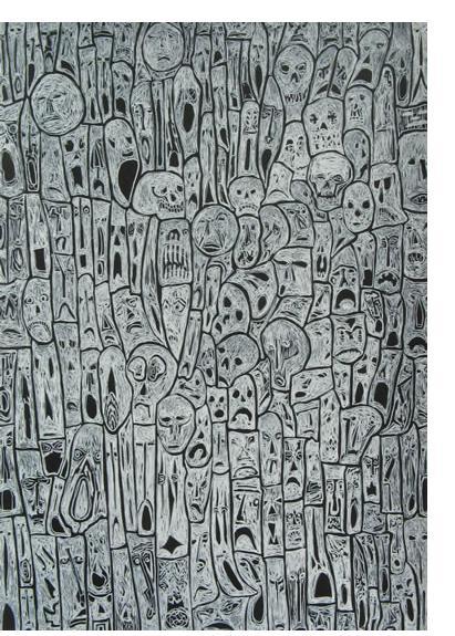 Nick Blinko | Henry Boxer Gallery - Outsider Art