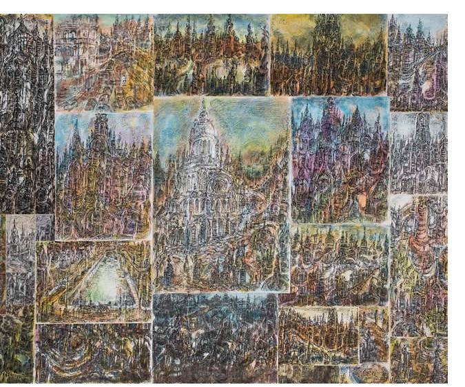 Herman Bossert - 'Untitled', 25 x 32.5 cm, crayon & pencil