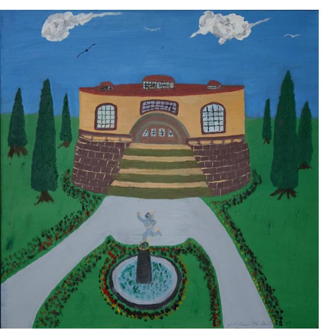 Michael Brien :'The Roundhouse' - 2007, oil on canvas