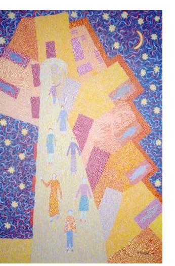 Rosemary Carson - 'Untitled' - Outsider Art