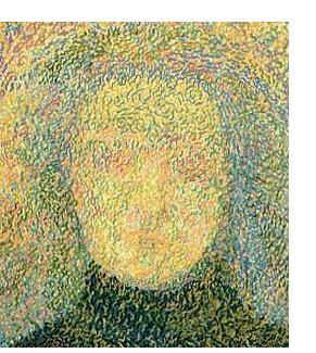 Rosemary Carson :'Awaiting Treatment' - Oil on board, 24 x 20 ins