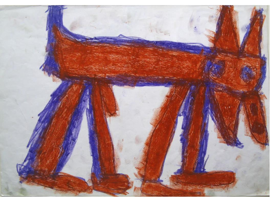 Adam Dembinski :'Untitled'- Outsider Art