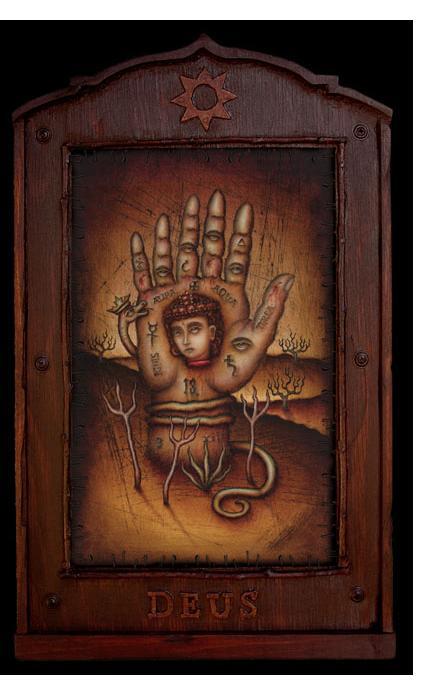 Daniel Martin Diaz :'Praenuntius' - 18 x 11 ins