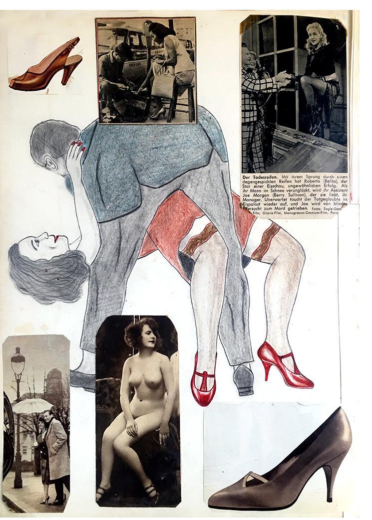 """Anon. Fetish Artist - """"Dipped"""" - 25 x 34 cm"""