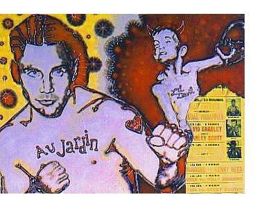 Gary Dobry:'L'il Devil' - acrylic on canvas, 36 x 48 ins