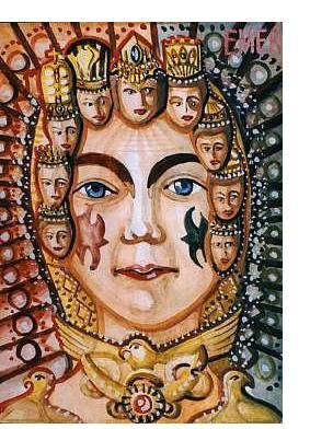Edvard Emelyantsev :'Untitled' - Outsider Art