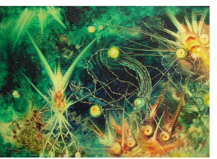 Eugene Von Bruenchenhein :'Untitled'