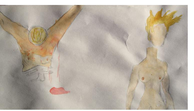 Nicola Frimpong :'Untitled',(detail),c.2009