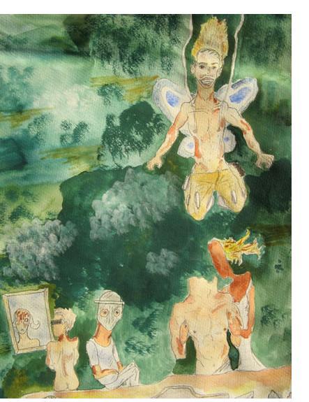 Nicola Frimpong :'Untitled', (detail) c.2008