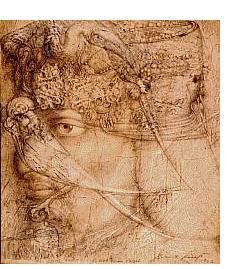 Ernst Fuchs:'Untitled' - Visionary Art
