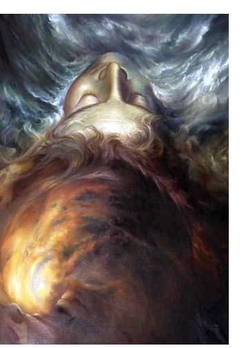 Pauline Jones :'Sea of Dreams' - 122 x 92 - Visionary Art