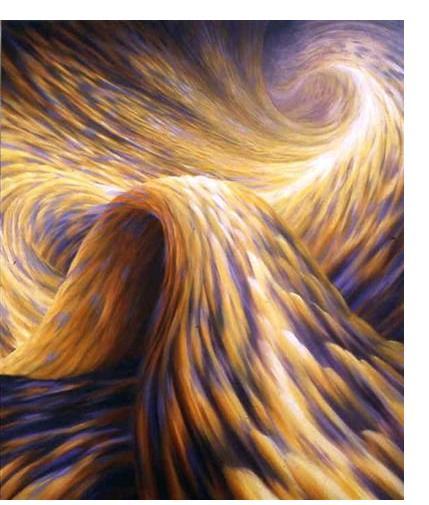 Pauline Jones :'Switchback' - 117 x 102 - Visionary Art
