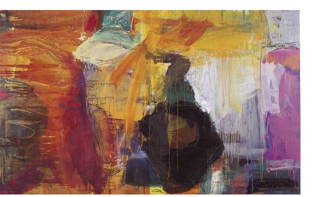Simon Klein :'2 x two' - oil on canvas