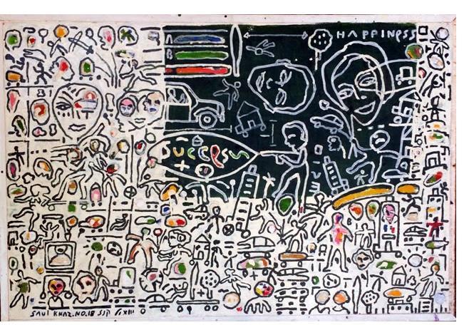 Shaul Knaz - self-taught artist