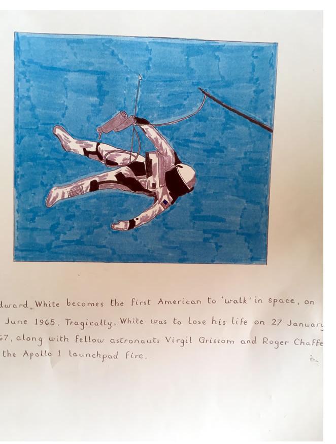 Richard Lambeth :'Untitled' c.2004, ink & pencil approx 12 X 18 ins