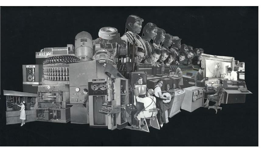 Morgan Lappin : 'The Machine I' (Unframed: 19 x 9) Framed: 29 x 21