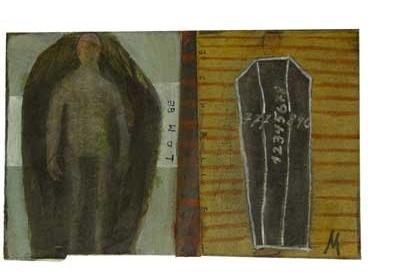 M: 'Untitled' - Outsider Art