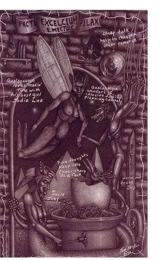 Tom McKee:'Untitled' - Visionary Art
