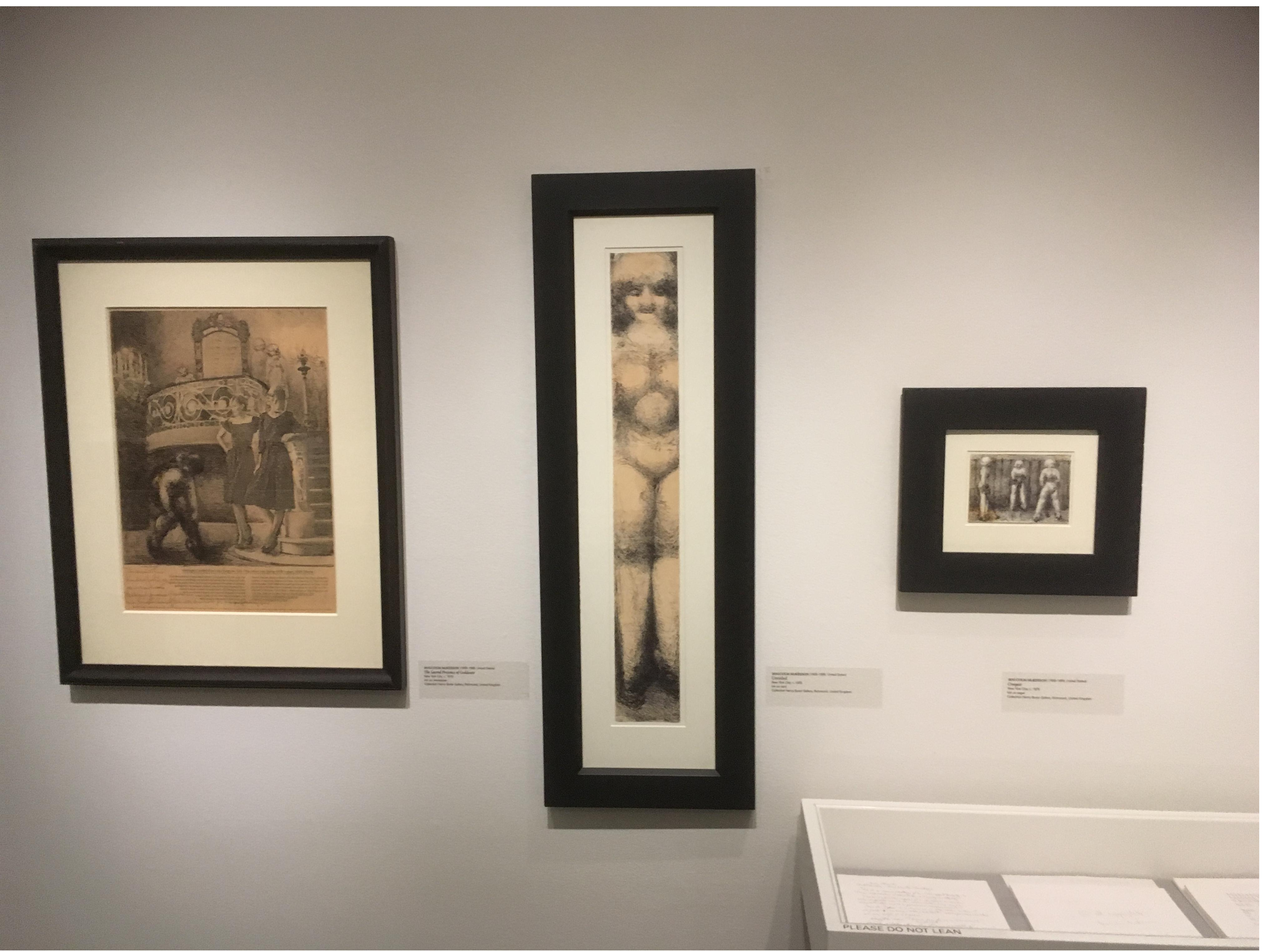 Malcolm McKesson work at American Folk Art Museum, New York