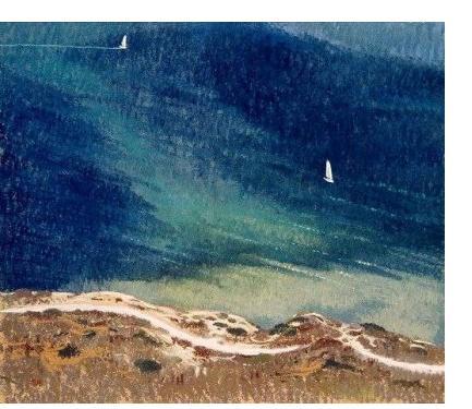 Michael Bennallack-Hart - 'Untitled', c1910, watercolour