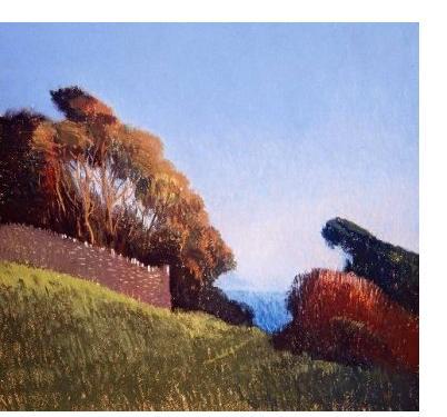 Michael Bennallack-Hart - 'Untitled' - pastel on paper, 20 x 21.5 ins