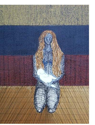 Kim Noble - Suzy - Pure III - Outsider Art