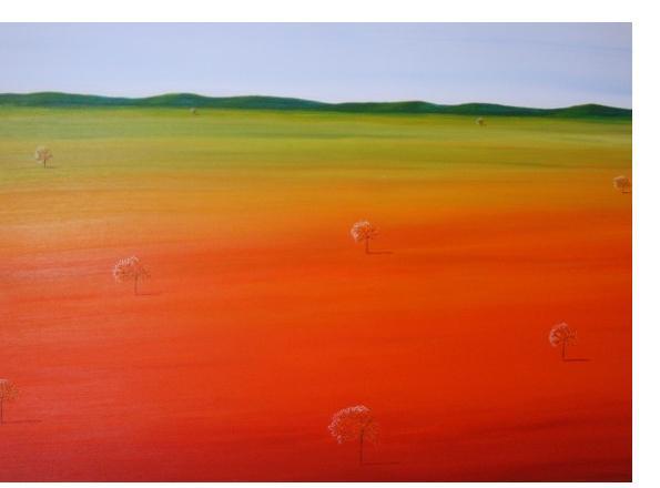 Kim Noble - Patricia - Desert Green - Outsider Art