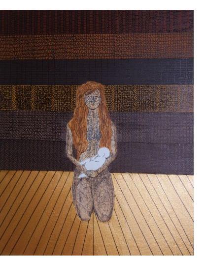 Kim Noble - Row  Suzy - Pure II - Outsider Art