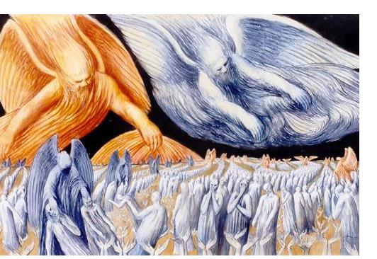 Donald Pass - 'Untitled' - 2000, watercolour on paper, 28 x 38 ins, Courtesy: The American Visionary Art Museum, Baltimore