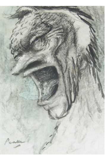 Mervyn Peake:'Untitled'