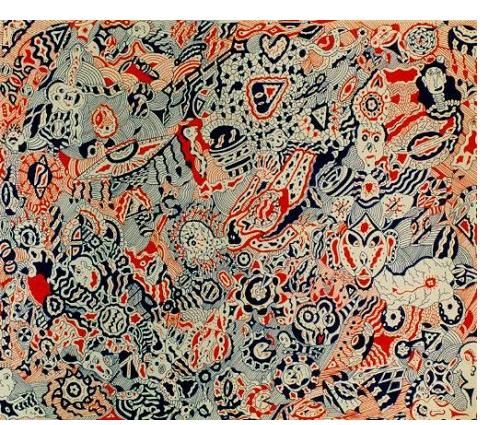 Robert Simon: 'Untitled' - Outsider Art