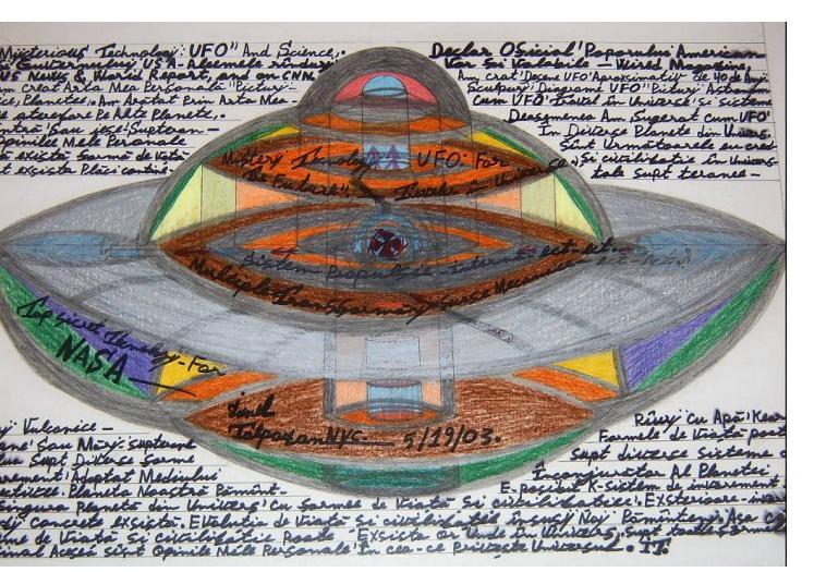 Ionel Talpazan :'Untitled', pencil on card