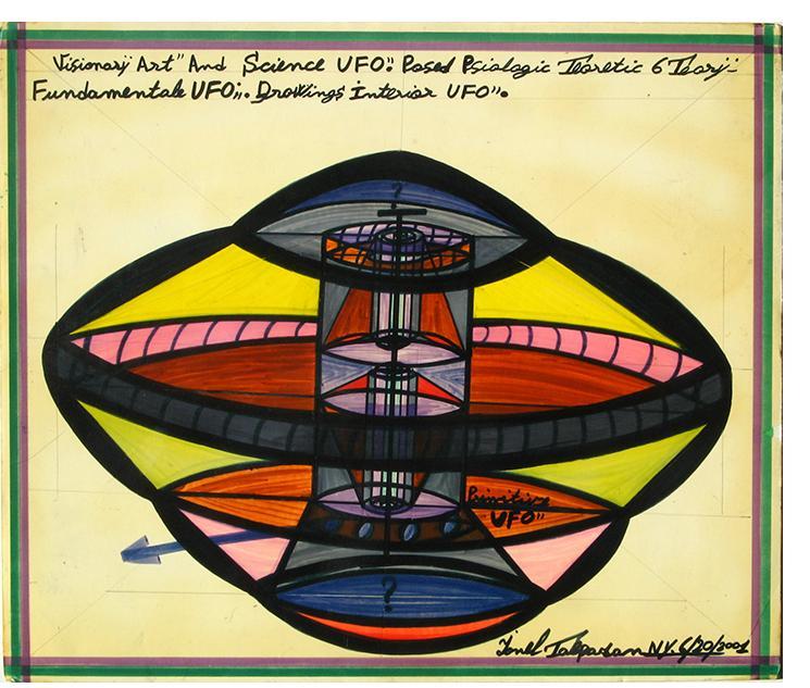 Ionel Talpazan 'Visionary Art & Science' 2001 17 x 20 ins