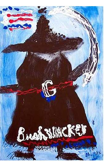 William Thomas Thompson :'Bushwhacker' - 36 x 24