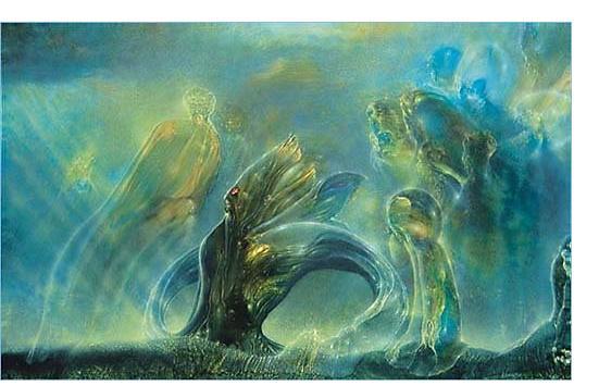 Robert Venosa:'Untitled' - Visionary Art