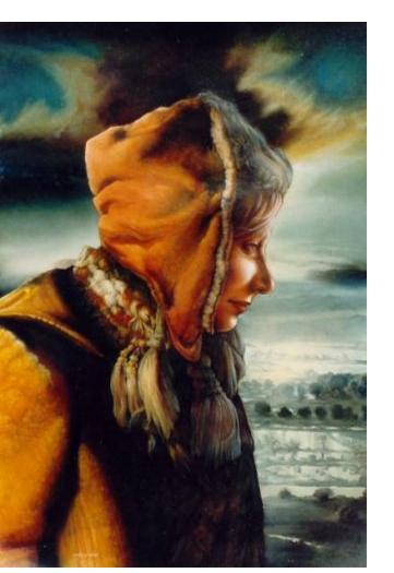 Vonn Stropp :'Untitled' - 2003, Oil on canvas, 28 x 20 ins