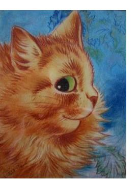 Louis Wain :'Untitled'