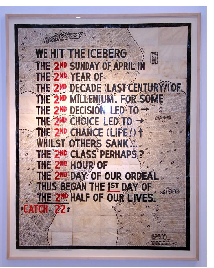 George Widener: Exhibited: 'Secret Universe, George Widener',  Nationalgalerie im Hamburger Bahnoff, Berlin, January 2013