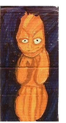 Maria Wnek:'Untitled' - self-taught art