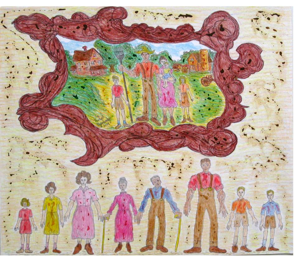 Michael Wysochansky:'Untitled' - Outsider Art